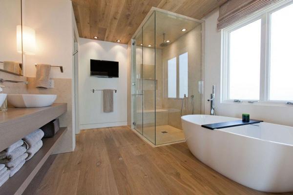 Eiken houten vloer in badkamer? | Alles voor je badkamer!