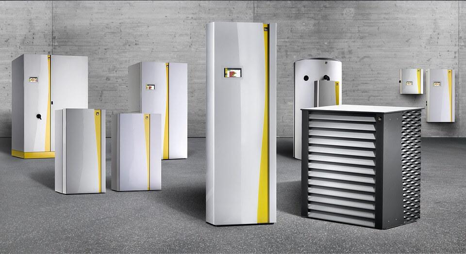 Warmtepomp om badkamer te verwarmen