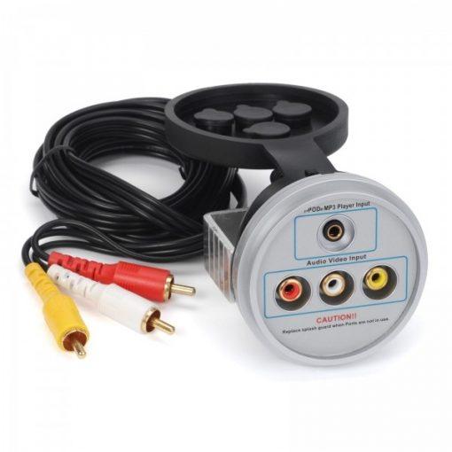 Audio/Video input voor de DVD speler