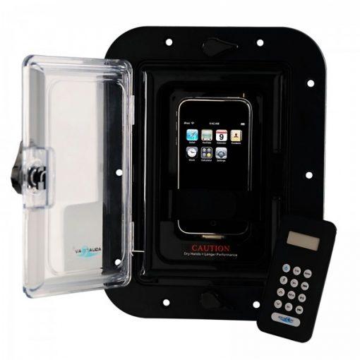 Inwall Ipod/Iphone/MP3 Dockingstation met FM