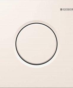 Geberit Sigma 01 urinoir bedieningsplaat pneumatisch Wit