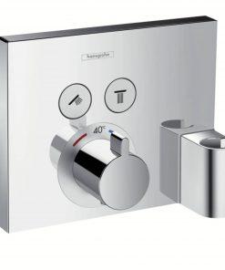 Hansgrohe Showerselect Afdekset Thermostaat Met 2 Douchefuncties Chroom