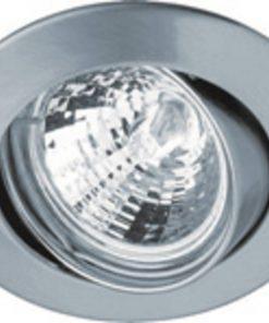 Ben Plafondspot Set 3 stuks rond Geborsteld Aluminium Halogeen