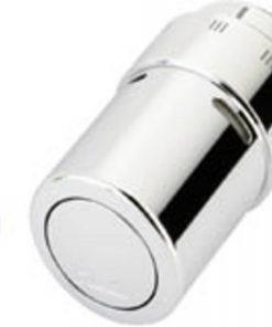 Ben Radiatoraansluitset Luxe knop rechts Chroom