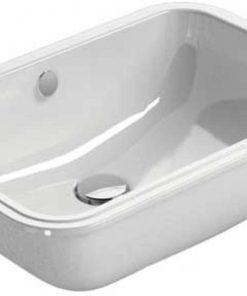 Ben Muret wastafel zonder kraangat 55x 38 cm wit