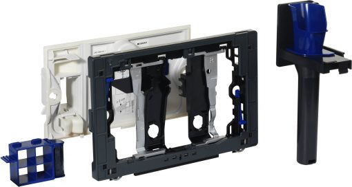 Geberit Houder voor DuoFresh Stick Antracietgrijs voor Sigma 12 cm