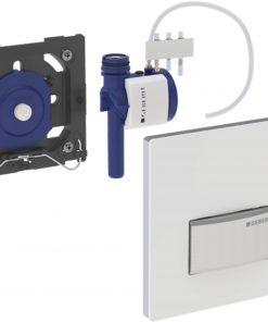 Geberit Sigma 50 urinoir bedieningsplaat pneumatisch eigen ontwerp Klantspecifiek