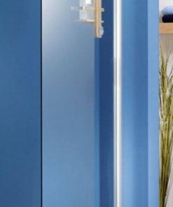 Ben Moon Zijwand 70x200cm Chroom / Helder Glas