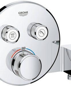 Grohe Grohtherm Smartcontrol Afbouwdeel Thermostaat met houder Chroom