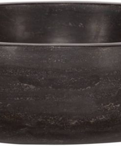 Saniselect Opzetwastafel rond 40x12 cm hardstenen