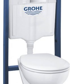 Grohe Bau Arena complete toiletset rimless wit