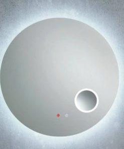 Line 45 Spiegel RondØ80x4 cm met LED Verlichting