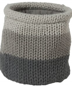 Sealskin Knitted Mand 15x15 cm grijs