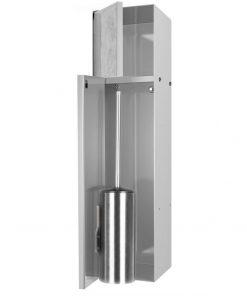 Looox CL10 Toiletborstelhouder inbouw betegelbaar inclusief opbergvak 2 deurs  14