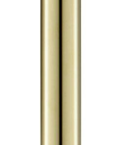 Ben Round 250 douche-arm plafond 25 cm Glanzend Messing