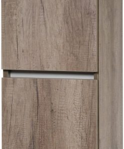Ben Limara Hoge kast links 35x29x165 cm Nebraska Eiken/Aluminium