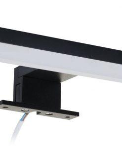Ben Lodi opbouw verlichting 30 cm voor spiegelkast Zwart