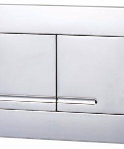Ben Compact Flush Lomex bedieningspaneel 2-knops tbv BCF/BCF112 glans chroom