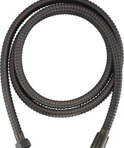 Ben Doucheslang metaal 125 cm Geborsteld Zwart