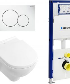 Villeroy&Boch O.Novo Complete toiletset incl. Geberit UP320