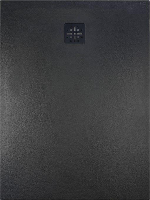 Ben Romana douchevloer 100x100 cm Mat Zwart