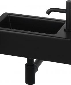 Ben Scuro fonteinset rechts Mat Zwart/Gestructureerd Zwart