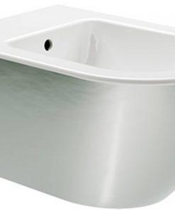 Ben Segno Wandbidet Xtra Glaze 36x55x28 cm Glans Wit-Platinum