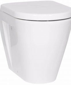 Ben Sito Back-to-wall staand toilet Wit