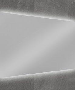 Ben Vario Fiano spiegel met 2x LED verlichting (onder/boven) met schakelaar 100x75cm